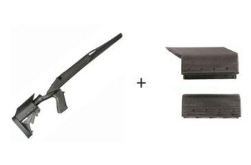 BlackHawk Knoxx Axiom Ultra-Light Rifle Stock for Remington 700 Long Action w/ BlackHawk Knoxx Axiom Cheek Piece Adapter