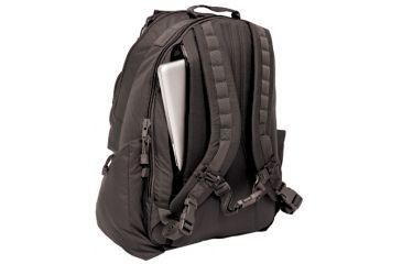 BlackHawk Black Laptop Backpack - Back View