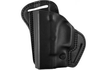 BlackHawk Leather Check-Six Holster, Left Hand, Black - Glock 26/27/33