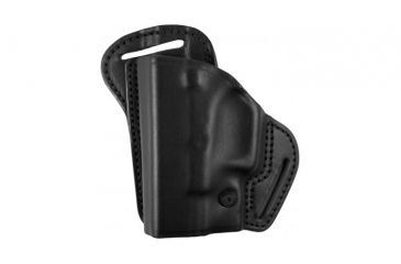 BlackHawk Leather Check-Six Holster, Left Hand, Black - S&W J Frame
