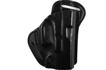 BlackHawk Leather Check-Six Holster, Right, Black 420703BKR
