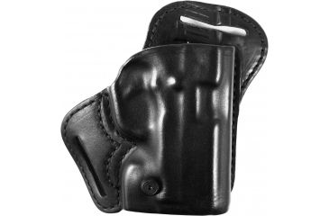 Blackhawk Leather Check-Six Holster, Right, Black 420723BKR