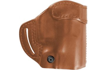 Blackhawk Leather Compact Askins Belt Holster, Brown, Right Hand, Glock