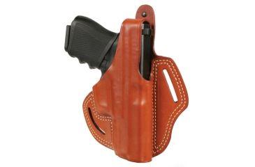 Blackhawk Leather Cutaway Belt Holster, Brown, Springfield XD 4in/XDM, Right Hand - 421307BN-R
