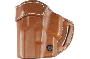 Blackhawk Leather Slide w/Thumb Break Holster, Left Hand - Glock 17/ 19/ 22/ 23/ 31/ 32/ 34/ 35