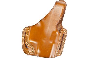 Blackhawk Leather Slide w/Thumb Break Holster, Right Hand - Glock 17/ 19/ 22/ 23/ 31/ 32/ 34/ 35