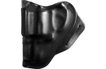 BlackHawk Leather Speed Classic Leather Holster - Plain Black, S&W J Frame - Left Hand