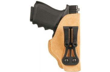 BlackHawk Leather Tuckable Holster, Brown, Glock 21/ SW MP Compact, Right Hand 421611BN-R
