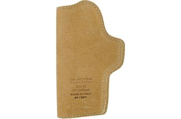 Blackhawk Leather Tuckable Holster, Brown, 1911 Officer, Right Hand - 421602BN-R