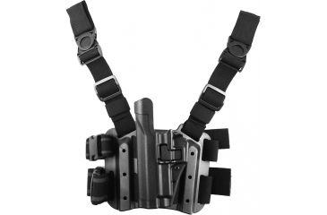 BlackHawk Level 2 SERPA Holster Pistol Xiphos Light Left 414506BKL