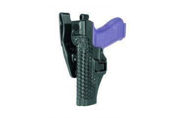 Blackhawk Serpa Level 3 Xiphos Basketweave Black Duty Belt Loop Holster Basketweave -Glock17, 22, 31