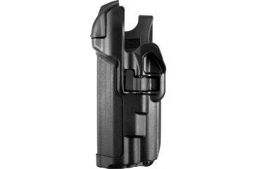 Blackhawk Level 3 Serpa Light Bearing Holster, Black, Left Hand - Beretta 92/96/M9A1
