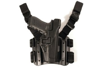 Blackhawk Serpa Tactical Level 3 Holster, Black, Right Hand, SigPro 2022 430608BK-R
