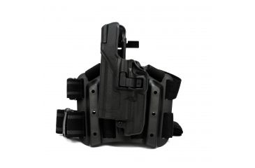 Blackhawk Serpa Level 3 Holster for Xiphos, Black, Left Hand, Glock 20, 21, Glock, Glock, S&W M&P .45, 9/40