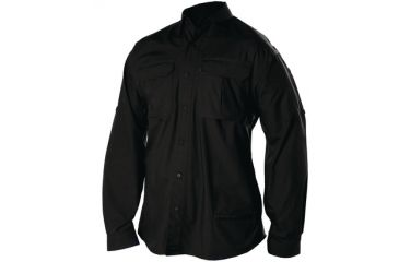 BlackHawk Light Weight Tactical Shirt, Long Sleeve, Black, 3XL  88TS01BK-3XL
