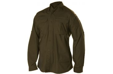 Blackhawk Light Weight Tactical Shirt Long Sleeve Chocolate Brown Small 88ts01cb Sm
