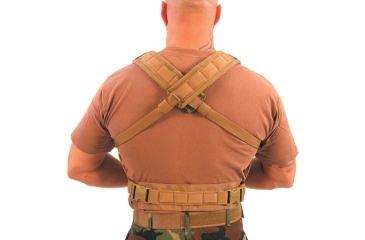 BlackHawk Lightweight Commando Recon Coyote Tan Chest Harness