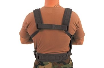 BlackHawk Lightweight Commando Recon Chest Harness, Black
