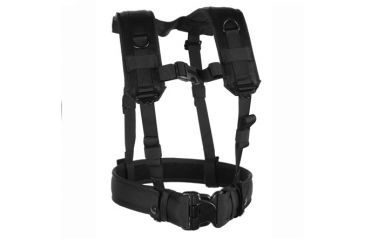 BlackHawk Load Bearing Suspenders w/Drag Handles, Black