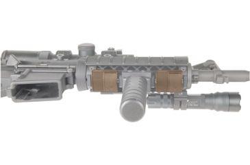 Blackhawk Locking Rail Panels, Short, 2 Panels, OD Green 71RP02OD
