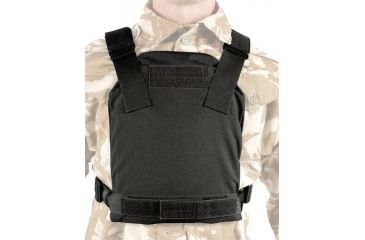 BlackHawk Low Visibility Plate Carrier, Medium, Black 32PC08BK