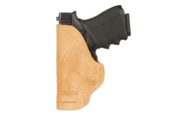 BlackHawk Leather Tuckable Holster, Brown, Glock 30/ SW MP Compact, Right Hand 421610BN-R