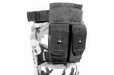 BlackHawk M14 MAG HIP POUCH (HOLDS 2) BLACK 511402BK