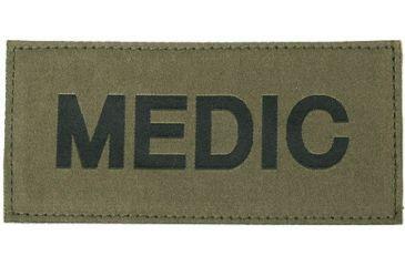 Blackhawk! Black on Green Medic Patch