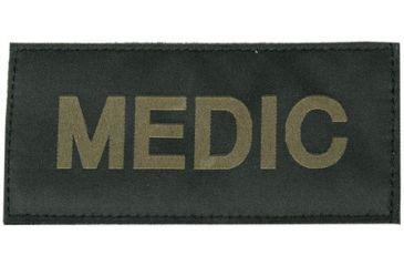 Blackhawk! Medic Patch, Green on Black
