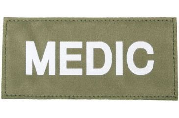 Blackhawk Medic Patch, White on Green
