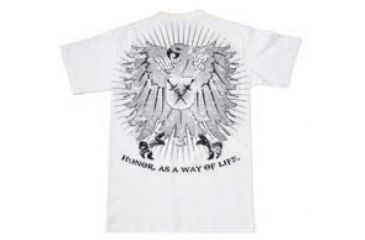BlackHawk Men's Crest T-Shirt, White, Large 90GT03WH-LG