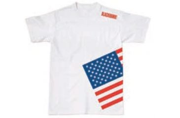 BlackHawk Men's Memory T-Shirt w/ Colored Flag, White, 3XL 90GT04WH-3XL