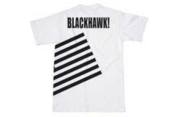 BlackHawk Men's Memory T-Shirt w/ Gray Flag, Black, 2XL 90GT00BK-2XL