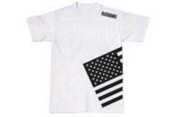 BlackHawk Men's Memory T-Shirt w/ Gray Flag, Black, Large 90GT00BK-LG