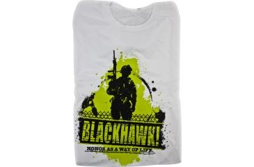 BlackHawk Men's Patrol T-Shirt, White, XL 90GT01WH-XL