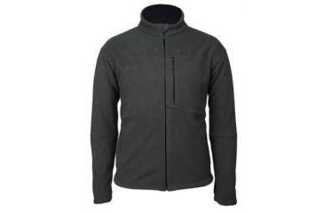 BlackHawk Mens Bonded Microfleece Jacket, Black/Dk Charcoal, 2XL 82FJ07BC-2XL