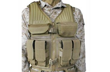 BlackHawk Omega Elite Tactical Vest #1, Olive Drab
