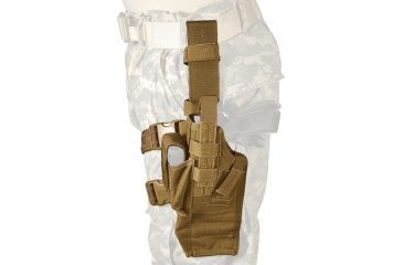 BlackHawk Omega VI Elite Holster Airborn, Right Hand, Desert Tan - Sig-220,226,228 / Glock 17/19/22/23/27