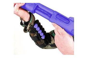 1-BlackHawk Pro Forearm Shotshell Holder Black 80FS00BK