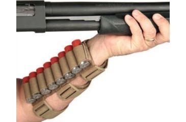 2-BlackHawk Pro Forearm Shotshell Holder Black 80FS00BK