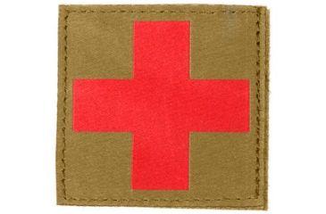 Blackhawk Red Cross ID Patch, Coyote Tan