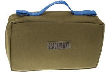 BlackHawk S.T.O.M.P. Medical Pack Accessory Pouch w/Blue Handle - Olive Drab - 60SAP2OD