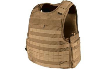 Blackhawk S.T.R.I.K.E. Carrier Cordura Lining Armor, Coyote Tan, Medium, Made in USA 32V502CT
