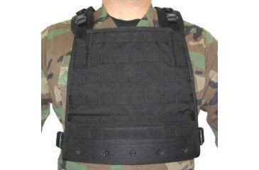 BlackHawk S.T.R.I.K.E. Gen-4 MOLLE System Plate Carrier Harness - Black 37CL33BK-H