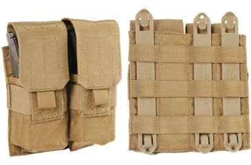 BlackHawk S.T.R.I.K.E. M4/M16 Double Mag Pouch - Coyote Tan 38CL03CT