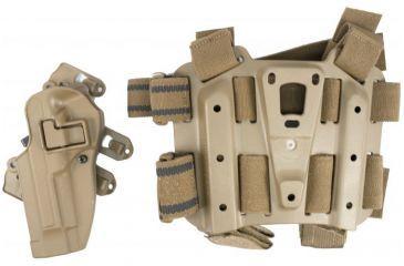 BlackHawk S.T.R.I.K.E. SERPA Combo Kit MD-LG - Coyote Tan - Left Hand 40SC02CT-L