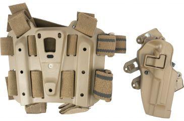 BlackHawk S.T.R.I.K.E. SERPA Combo Kit MD-LG - Coyote Tan - Right Hand 40SC02CT-R