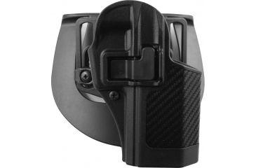 Blackhawk SERPA CQC Belt Loop/Paddle Holster, Right Hand, Carbon Black - Ruger P95 - 410012BK-R