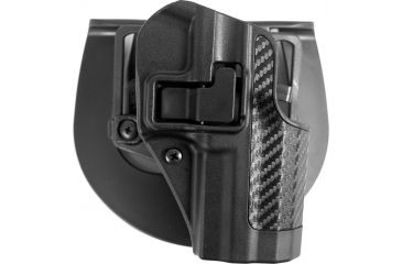 Blackhawk Serpa CQC Holster Right Carbon Fiber Finish Black