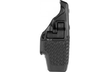 BlackHawk Serpa Level 2 Duty Holster Right - Basketweave for Taser-X26, 44H015BW-R